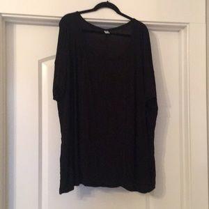 Tops - Black maternity top